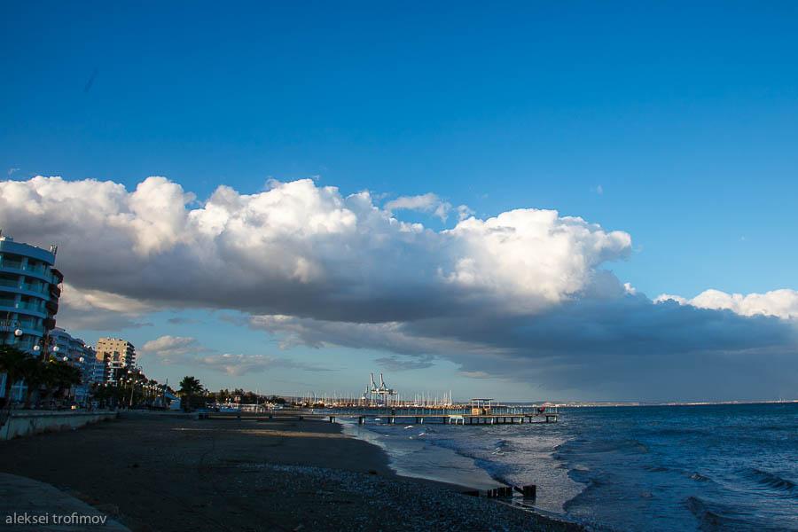 Larnaca seafront